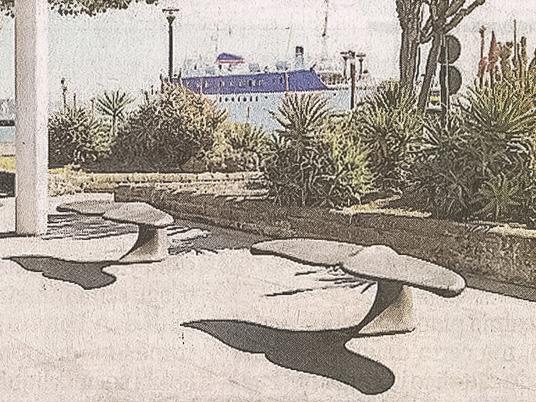 Per Mango la panchina è una coda di balena